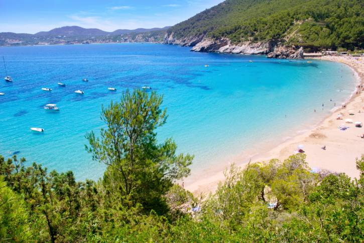 Ibiza, Cala de Sant Vicent (Thinkstock)
