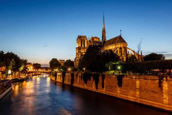 Parigi e la Cattedrale di Notre Dame (Thinkstsock)