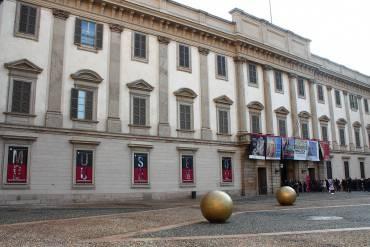 Palazzo Reale a Milano (Foto di Stefano Stabile. da Wikicommons. Licenza CC BY-SA 3.0)