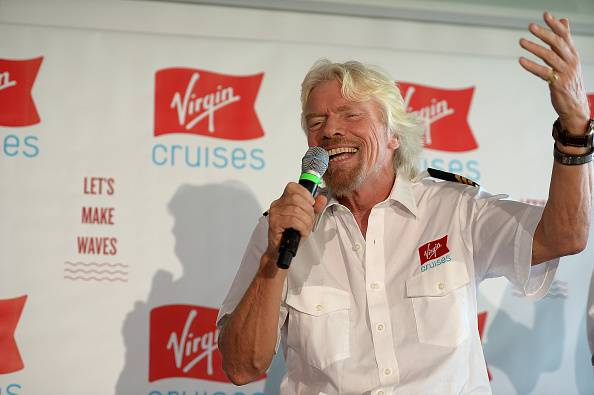 Richard Branson, patron della Virgin (Gustavo Caballero/Getty Images)
