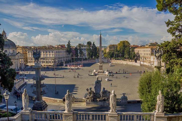 Roma, Piazza del Popolo (Thinkstock)
