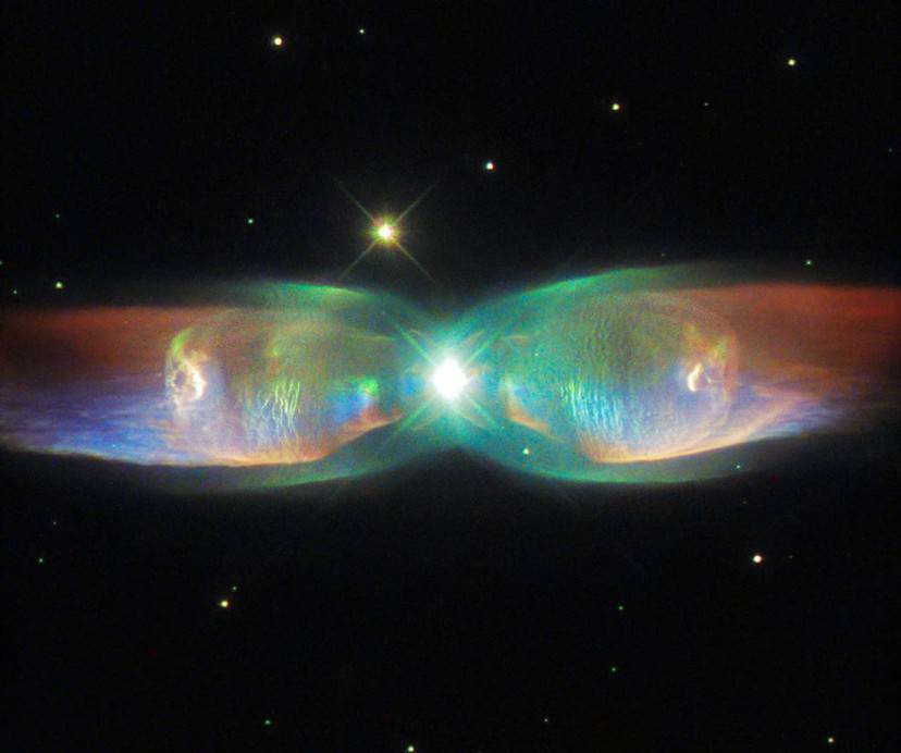 Twin Jet Nebula (Credits: ESA/Hubble & NASA, Acknowledgement: Judy Schmidt)