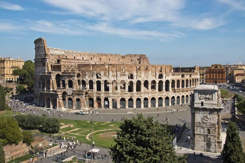 Colosseo, Roma (Foto di Bert Kaufmann. Licenza CC BY-SA 2.0 via Wikimedia Commons)