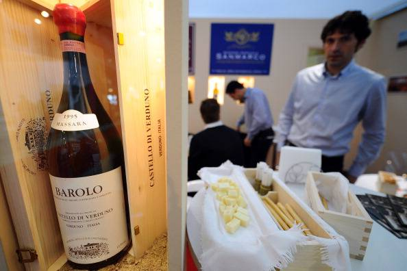 Barolo al Vinitaly (VINCENZO PINTO/AFP/Getty Images)