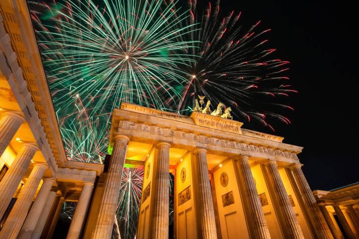Berlino a Capodanno (Thinkstock)