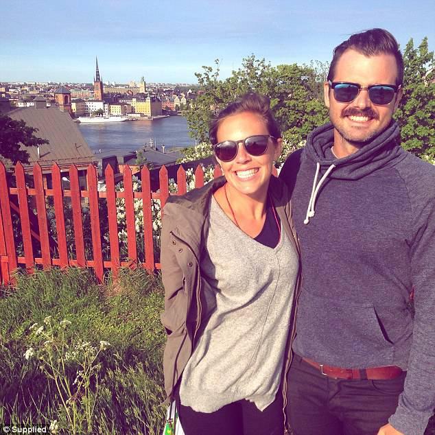 Tamara Grysiewicz e il fidanzato Michael (Foto Daily Mail)