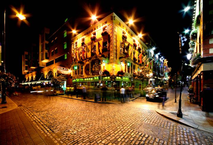 Temple Bar Street, Dublino (Thinkstock)