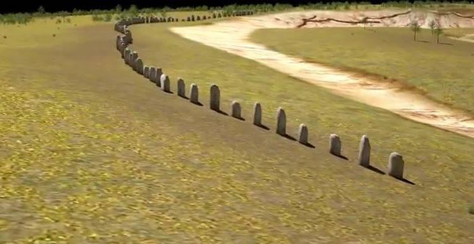 I monoliti nascosti di Durrington Walls (screenshot)