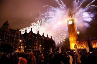 Londra a Capodanno (Thinkstock)
