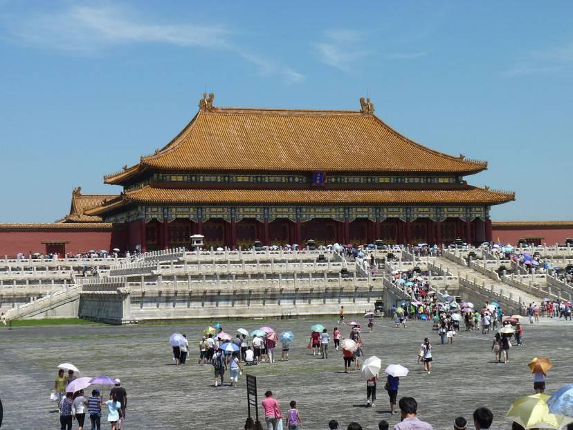 Pechino, la Città Proibita (Foto di Mummyyx. Licenza CC BY-SA 3.0 via Wikimedia Commons)