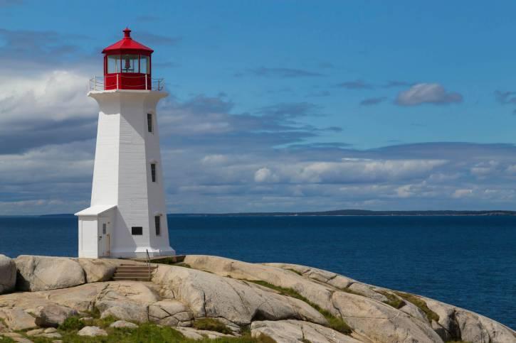 Faro di Peggy's Cove, Nova Scoztia, Canada (Thinktsock)