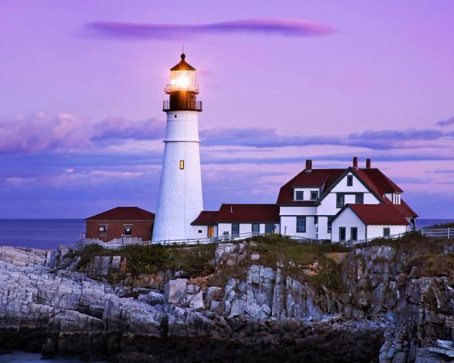 Portland Head Light, Maine (Thinkstock)