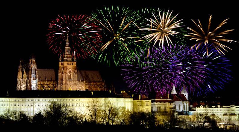 Praga a Capodanno (Thinkstock)