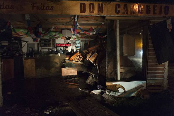 Devastazioni del terremoto del 16 settembre 2015 in Cile (VLADIMIR RODAS/AFP/Getty Images)