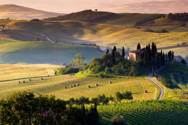 Val d'Orcia, Toscana (Thinkstock)