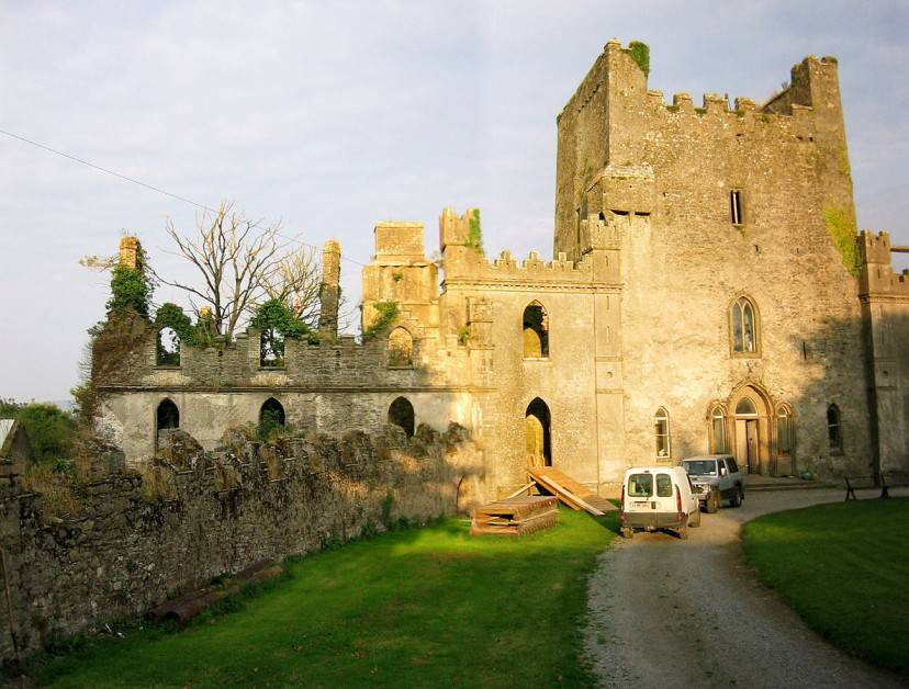 Castello Leap, Irlanda (Foto D. Brands. Licenza CC BY-SA 3.0 via Commons)