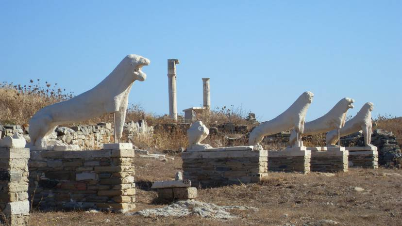 Delos, Grecia (Foto di Vijinn. Licenza CC BY-SA 3.0 via Commons)