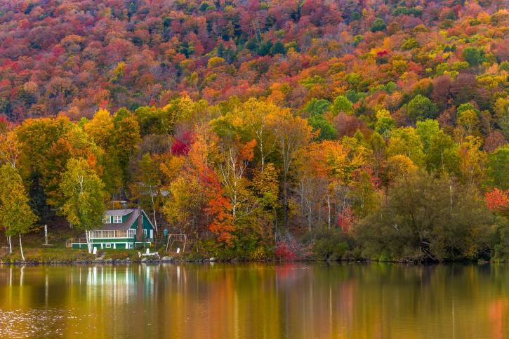 Elmore State Park, Vermont, Usa (Thinkstock)