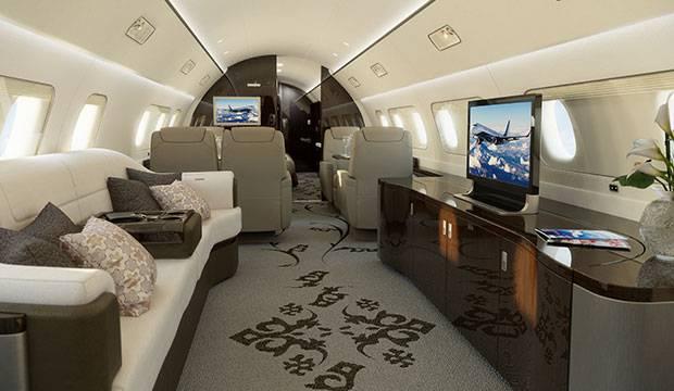 Jet Privato Volo Vuoto : L aereo privato più lussuoso al mondo video