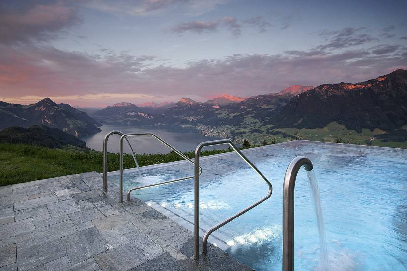 Piscina Hotel Villa Honegg (Foto sito ufficiale)