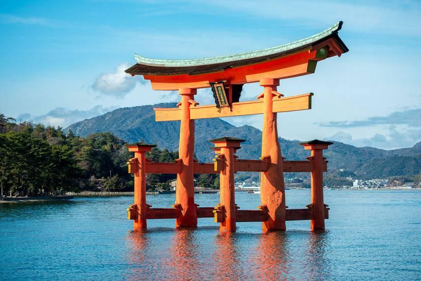 Itsukushima (Foto di Jordy Meow. Licenza CC BY-SA 3.0 via Commons)