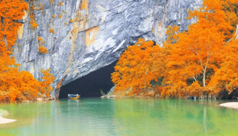 Grotta di Phong Nha in Autunno, Vietnam (Thinkstock)