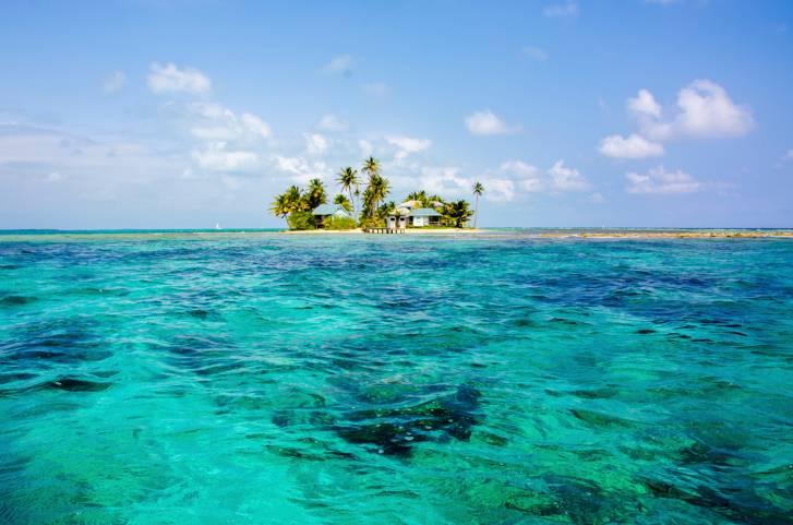 Beautiful Island in Belize