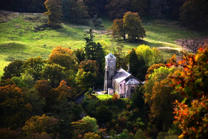 Brathay Church, Lake District, Regno Unito (Thinkstock)