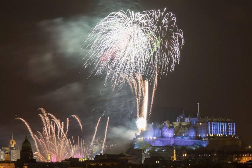 Edimburgo a Capodanno (Thinkstock)