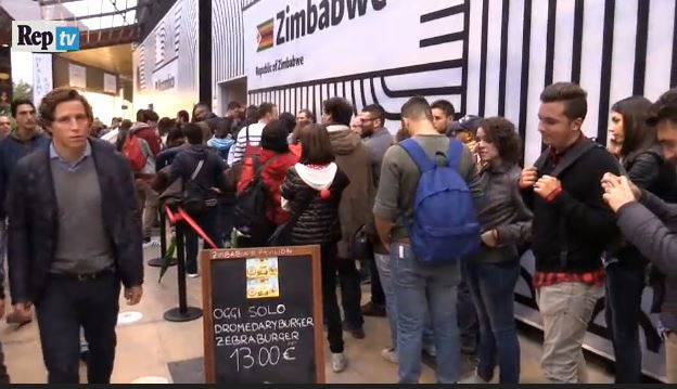Expo Milano (screenshot, video RepubblicaTv)