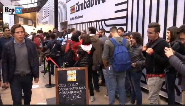 Expo Milano (screenshot, video RepubblicaTv)