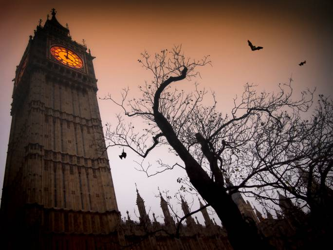 Il Big Ben in versione Halloween (Thinkstock)
