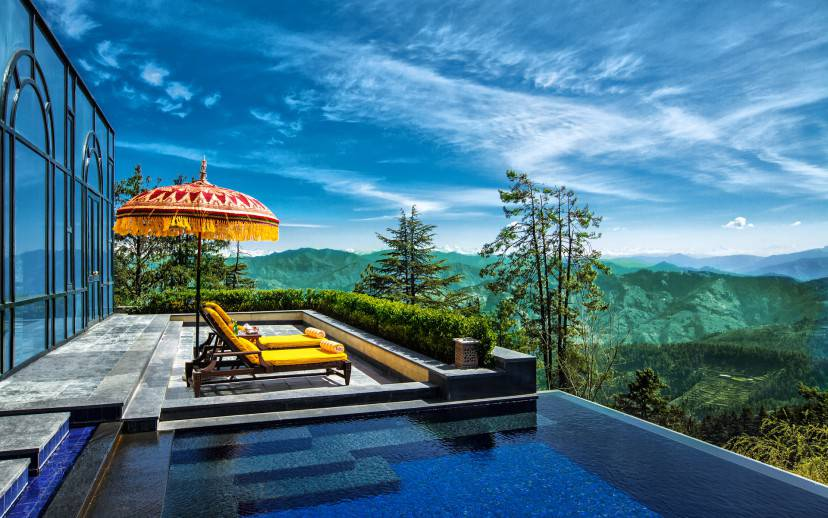 Piscina, Wildflower Hall, Shimla, India (Foto sito ufficiale)