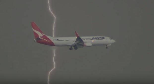 Aereo della Qantas (screenhsot)