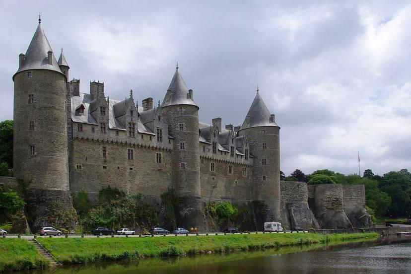 Castello di Josselin (JLPC / Wikimedia Commons. Con licenza CC BY-SA 3.0)