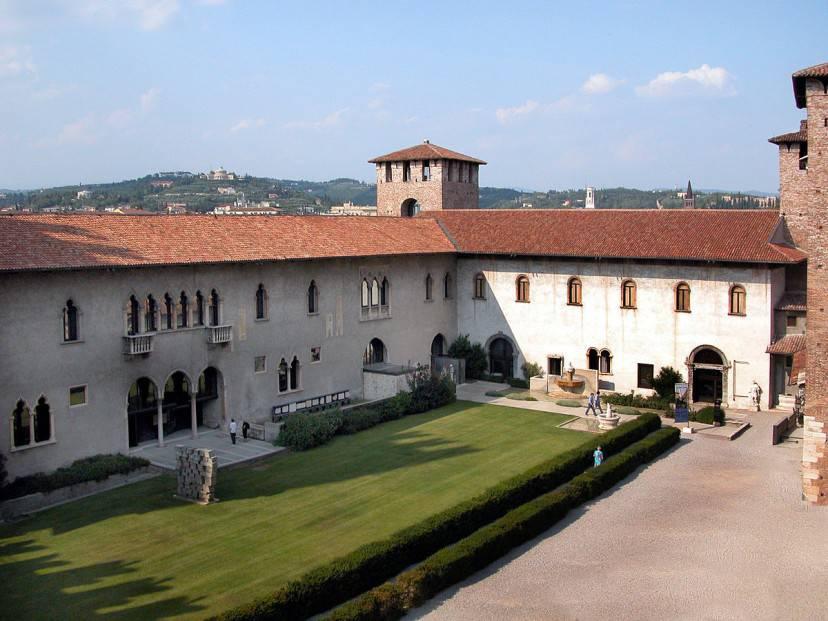 Museo Civico di Castelvecchio a Verona (Foto di Ugo franchini. Licenza CC BY-SA 3.0 tramite Wikimedia Commons)