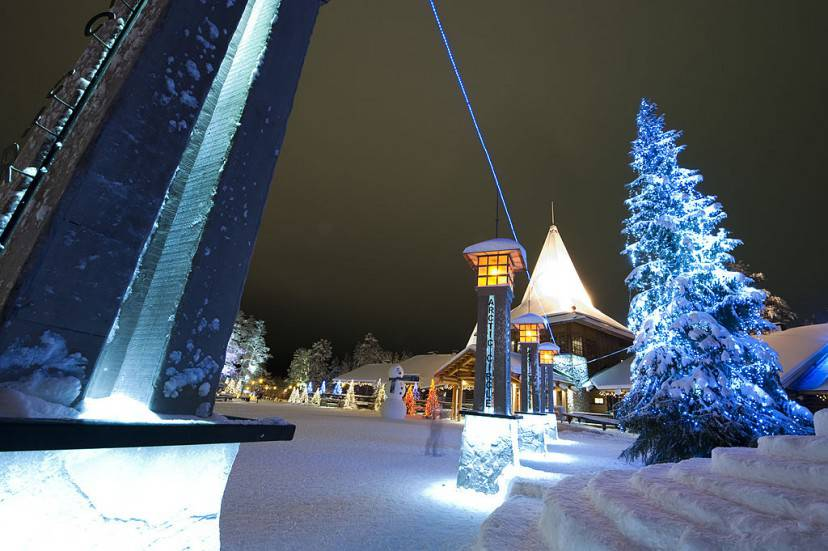 Santa Claus Village, Rovaniemi (JONATHAN NACKSTRAND/AFP/Getty Images)