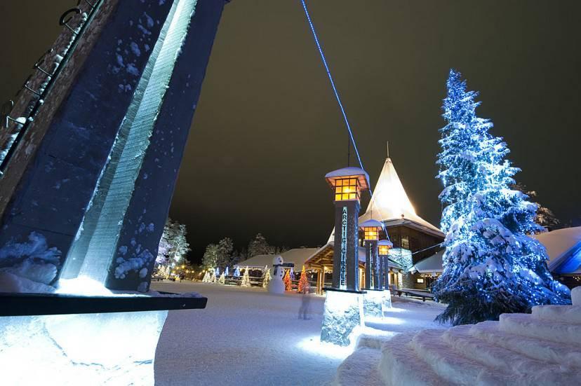 Santa Claus Village, Rovaniemi (JONATHAN NACKSTRAND/AFP/Getty Images)