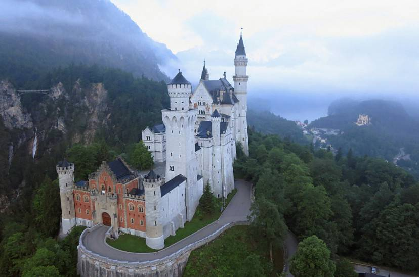 Castello di Neuschwanstein (Sean Gallup/Getty Images)