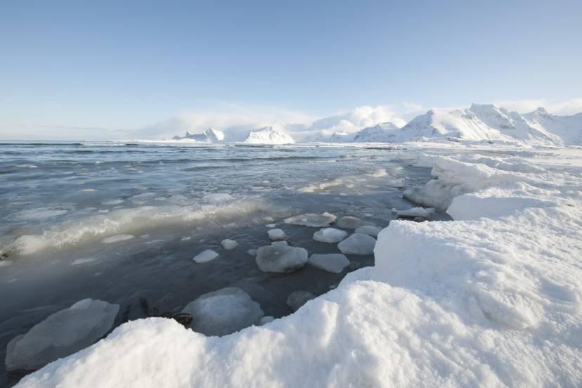 Moskenes, Isole Lofoten, Norvegia (Thinsktock)