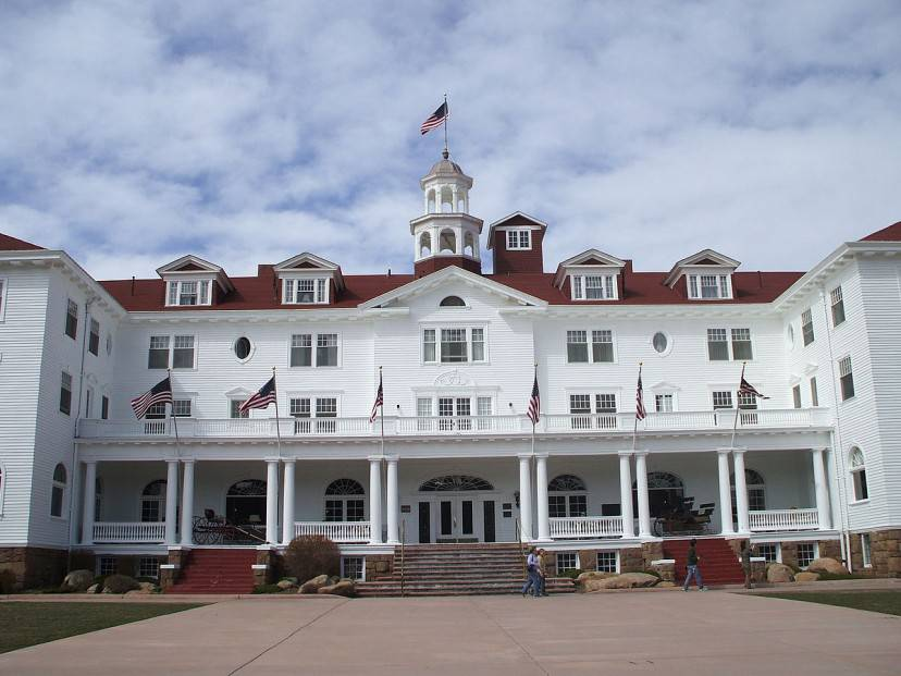 Stanley Hotel, Estes Park, Colorado (Wikipedia)