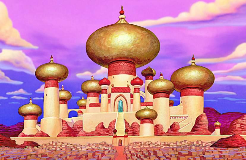 Palazzo del sultano, Aladdin