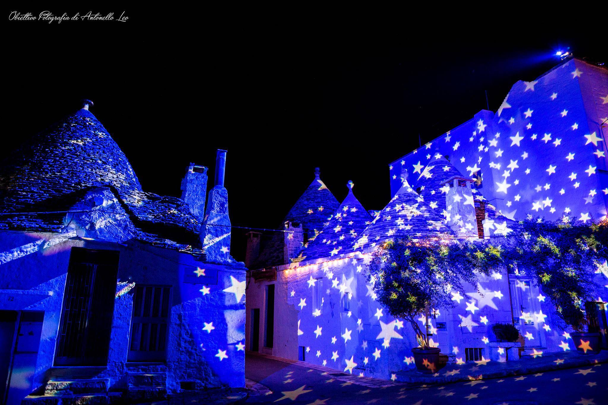 Foto dal sito Alberobellolightfestival.com