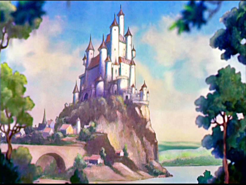 Castello della Regina Grimilde, in Binacaneve e i sette nani