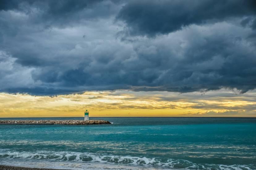 Cagnes sur Mer, Costa Azzurra, inverno (Thinkstock)