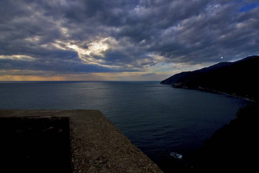 Cinque Terre, Via dell'amore in inverno (Thinkstock)