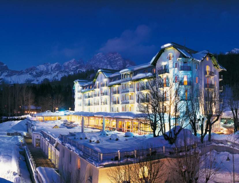 Hotel Cristallo, Cortina D'Ampezzo (Foto sito wweb)