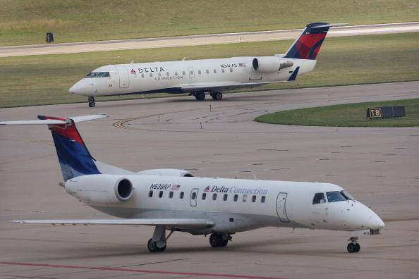 Aerei Delta Airlines (Scott Olson/Getty Images)