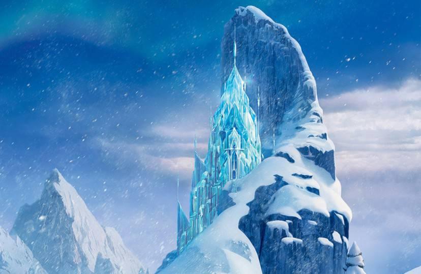 Il palazzo di Frozen