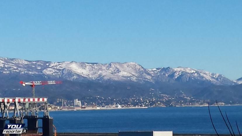 Neve in Liguria (YouReporter.it)